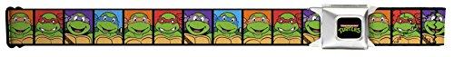 Ninja Turtles Cartoon Squares Seatbelt Belt (Ninja Turtles Sensei)