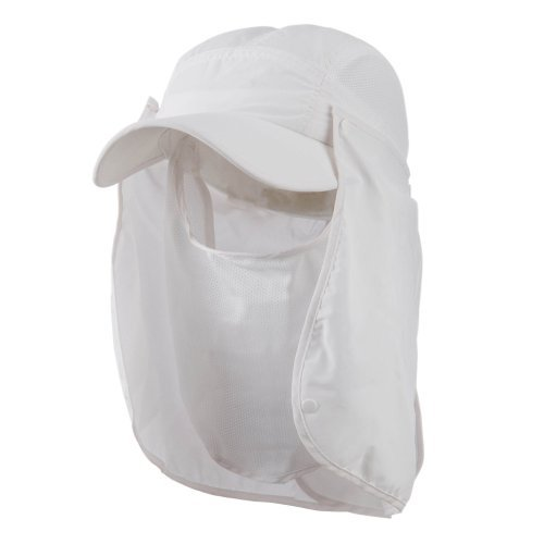 White Nylon Flap - 4