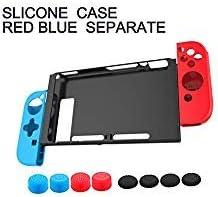 Nintendo Switch Case Cover - Carcasa de silicona a prueba de ...