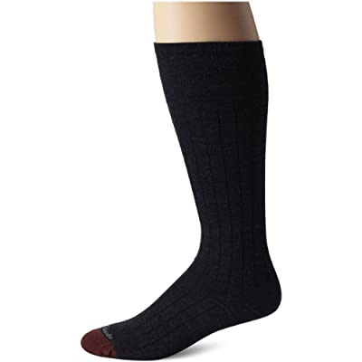 Cheap Allen Edmonds Men's Merino Wool Blend Over-The-Calf Socks, Navy, Sock Size:10-13/Shoe Size: 6-12/Standard