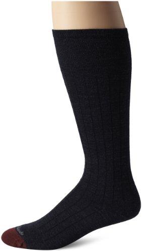 Allen Edmonds Men's Merino Wool Blend Over-The-Calf Socks, Navy, Sock Size:10-13/Shoe Size: 6-12/Standard from Allen Edmonds