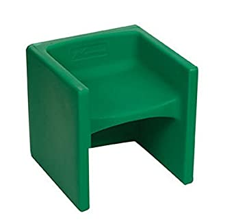 Charmant Childrens Factory CF910 011 Chair Cube   Green