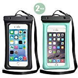 TeaTronics Floating Waterproof Case,Waterproof Phone Case IPX8 Waterproof Phone Pouch Available TPU Clear Dry Bag -