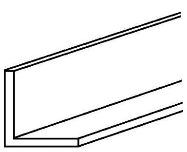 Boltmaster Aluminum Angle 1/16'' X 3/4'' X 3/4'' X 4' Anodized Bulk