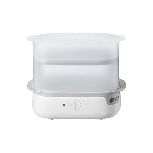 31d3S1oGbnL - New Tommee Tippee Steri-Steam Electric Steam Sterilizer, White