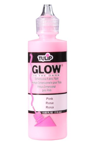 Tulip 29019 Dimensional Fabric Paint 4oz Glow