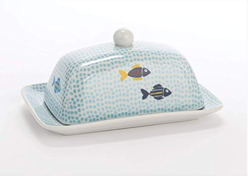 fish butter dish