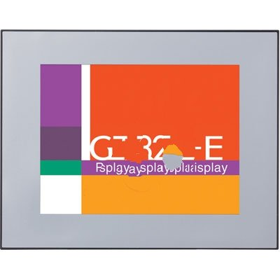 24VDC TFT Color LCD GT32T-E RS232C 5.7in Panasonic AIG32TQ03DE Silver Touchscreen