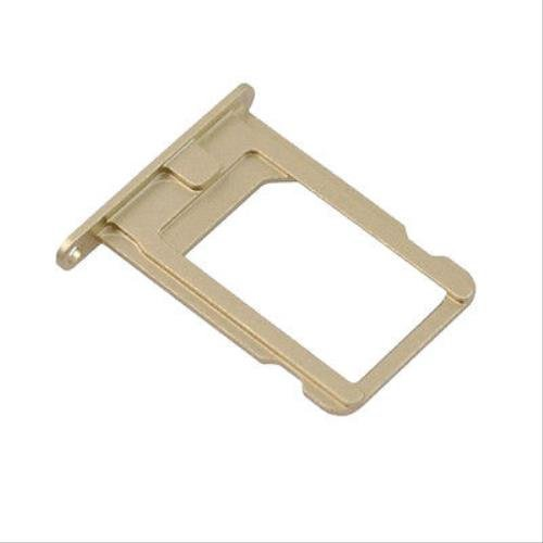 For iPhone 5s - Nano SIM Card Tray Holder Slot Replacement Part - Gold (Iphone 5s Gold Sim Slot)