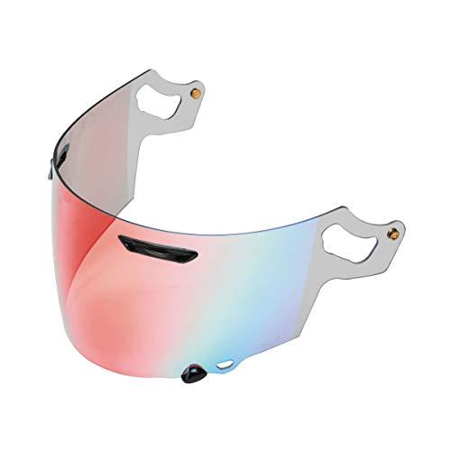 - Arai VAS-V MAX Vision Face Shield Red Mirror