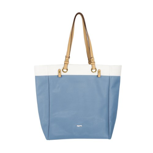 PICARD Damas Leatherette Bolsillo Satchel Shopper Carmen Aqua - Vagoneta 2779 - % Sale