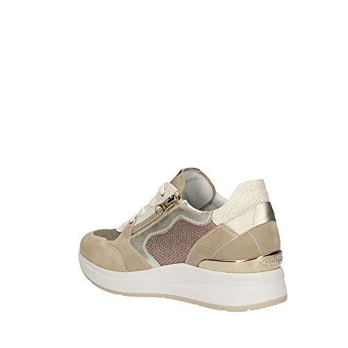 Sneakers Giardini Avorio P907722d Donna Nero nzv8x