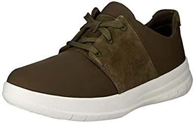 FITFLOP Womens Sporty-Pop X Sneakers,Dark Olive,6