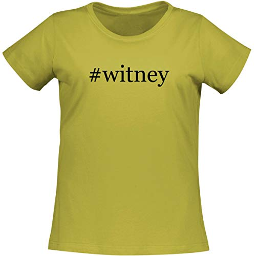 The Town Butler #witney - A Soft & Comfortable Women's Misses Cut T-Shirt, Yellow, XX-Large