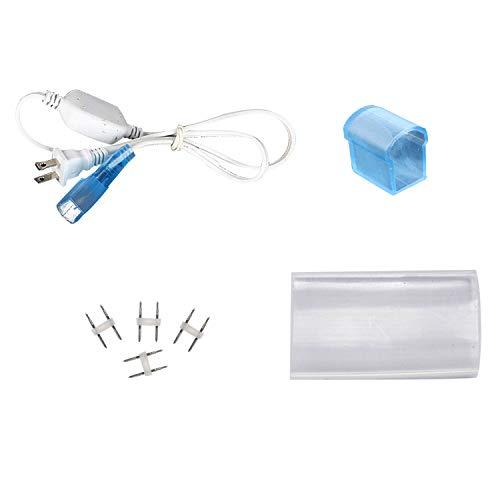 Shine Decor 2.6FT LED Power Cord 110V 15mmx25mm LED Neon Rope Lights Only, Pack of 3