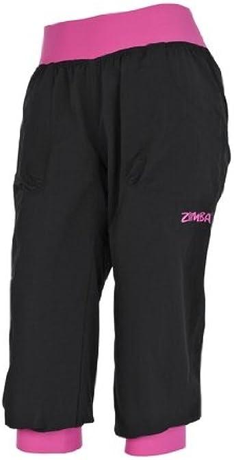 Zumba Fitness Cargo Capri Pantalon De Entrenamiento Para Mujer Negro Negro Talla Extra Small Amazon Es Ropa Y Accesorios
