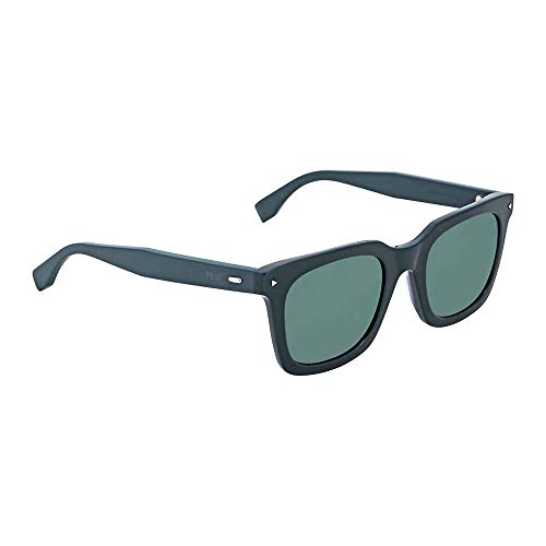 (Sunglasses Fendi 216 /S 01ED Green / 3U khaki mirror blue lens)