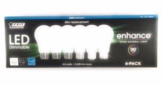 Feit LED Dimmable Enhance Vivid Natural Light 60 watt