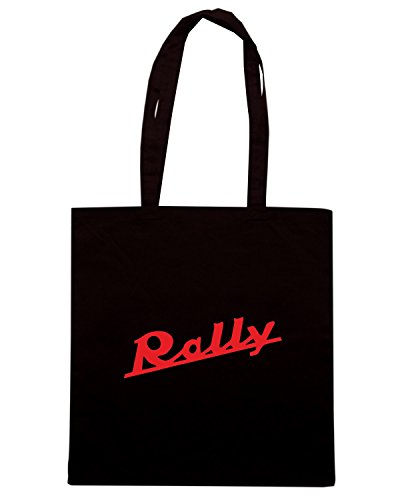 T-Shirtshock - Bolsa para la compra OLDENG00616 rally Negro