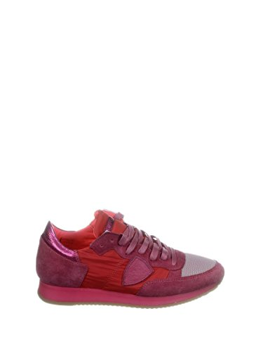 Philippe Model Zapatillas Para Mujer Bordeauxrot/Fuchsia It - Marke Größe