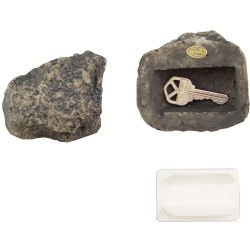 New Rock Key Hider-Gray Popular Stylish Modern Design Practical High Quality Excellent ()