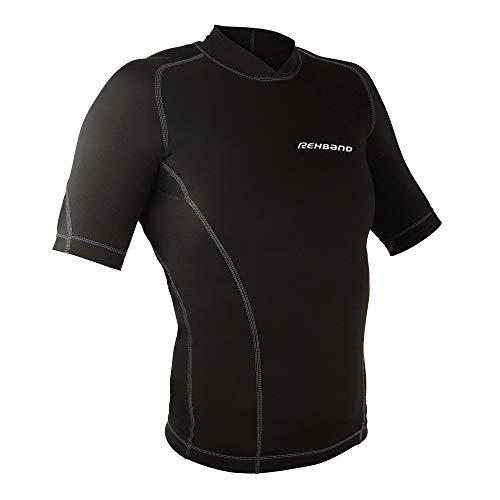 Compresión Rehband Mujer Negro Para De Qd Camiseta qq0xw1f4