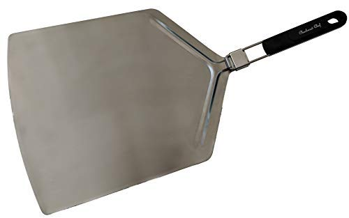 Checkered Chef Pizza Peel Extra Large Pizza Paddle With Folding Handle 15 x 13inch paddle