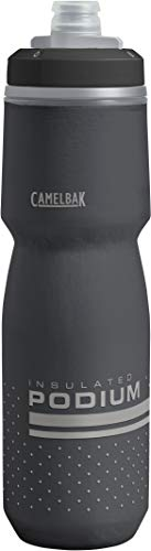 CamelBak Podium Chill Insulated Bike Water Bottle 24 oz, Black