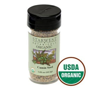 Organic Cumin Seed Whole Jar - SWB250115 1.85oz