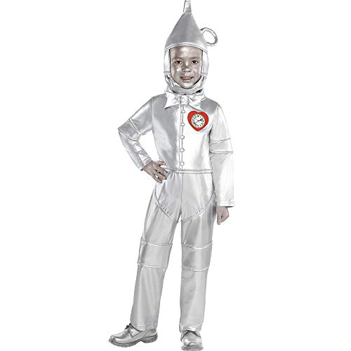 (Suit Yourself Tin Man Halloween Costume for Toddler Boys, The Wizard of Oz, 3-4T, with Included Accessories)