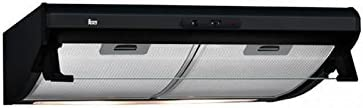 Teka C 6420 Telescópica o extraplana Negro 375m³/h E - Campana (375 m³/h, Canalizado, F, g, D, 60 dB): Amazon.es: Grandes electrodomésticos