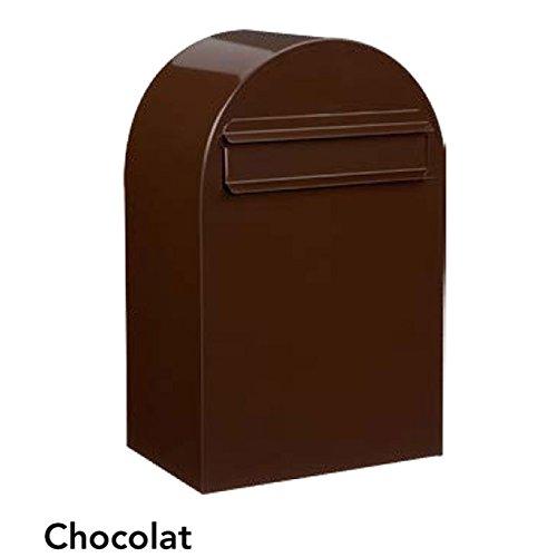 ポスト 郵便受け 郵便ポスト ボンボビ ショコラ 前入れ後出し 鍵付き スタンド対応 集合住宅対応   B077Z65MLL