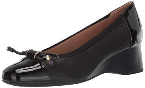 - Geox Women's AUDALYA 3 Wedge Ballet Shoe, 1 3/4