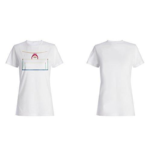 Gym Zug harte lustige Neuheit Neue Art Damen T-shirt c569f