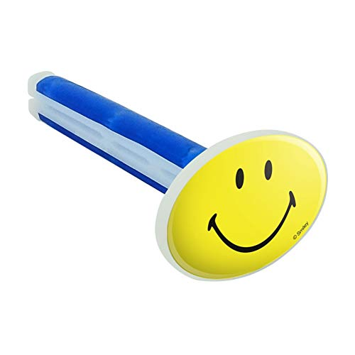 Graphics and More Smiley Smile Happy Yellow Face Car Air Freshener Vent Clip - New Car Scent