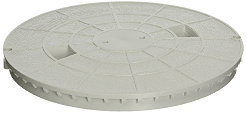 Pentair 516215 White Deck Lid Replacement Bermuda Gunite and Vinyl Liner Skimmer (White Skimmer Lid)