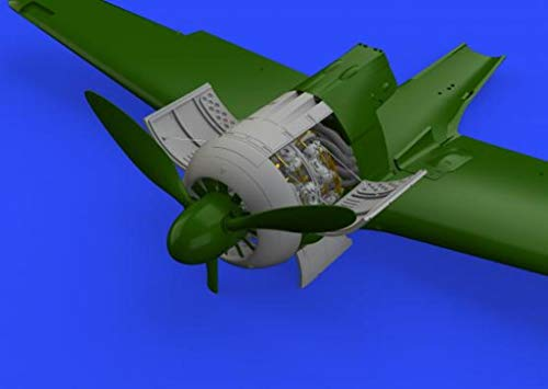 Eduard Brassin 1:48 Fw-190 A-4 Engine Resin Detail for sale  Delivered anywhere in USA