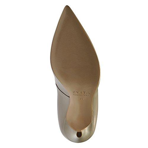 Evita Shoes - Zapatos de vestir de Piel para mujer Morado - pardo