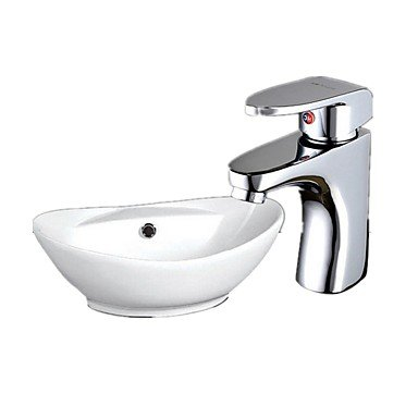 HZZymj-Single brass Centerset bathroom sink faucets single hole