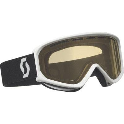 SCOTT US Fact Ski Goggles, White, Amplifier Lens