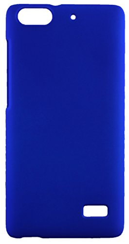 FCS Premium Rubberised Hard Back Case Cover for Huawei Honor 4C in Matte Finish  Blue