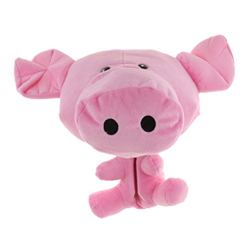 DYNWAVE Pink Pig Animal Golf Wood Driver Head Cover Protective Headcover Training Aid Accessories 22 x 17 cm - Novelty Golf Headcover