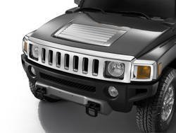 hummer h3 accessories chrome oem factory. Black Bedroom Furniture Sets. Home Design Ideas