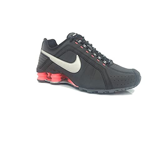 on sale fe099 cf6ab good Nike Women's WMNS Shox Junior, BLACK/METALLIC SILVER ...