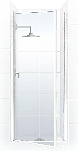 Coastal shower doors legend series framed hinge shower door in clear coastal shower doors legend series framed hinge shower door in clear glass 24quot x planetlyrics Image collections