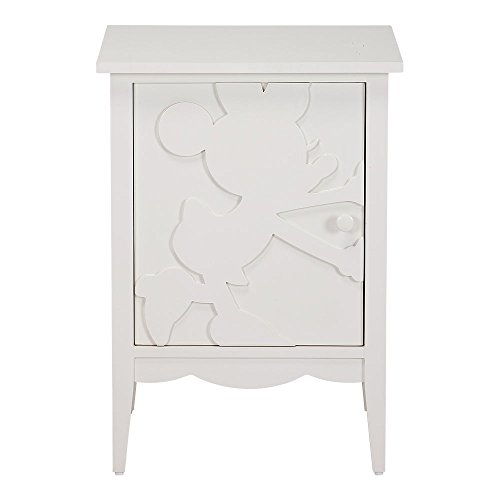 Ethan Allen | Disney Minnie Mouse Shadow Cabinets, Snow, Left