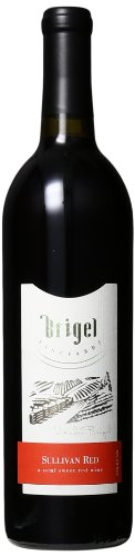 NV Brigel Vineyards Sullivan New York Red Wine semi sweet kosher
