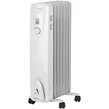 e4ba3edcf1e Optimus H-6011 Portable Oil Filled Radiator Heater