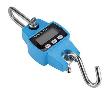 Mini grúa Digital para Colgar, báscula portátil Resistente de 660 libras/300 kg para Caza, Pesca de Granja y fábrica, Color Azul: Amazon.es: Electrónica