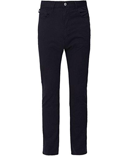 Azul Slim Jeans Armani J06 Ligero Emporio Peso Tejido Hombres Sarga Azul fit Marino qAwxfv